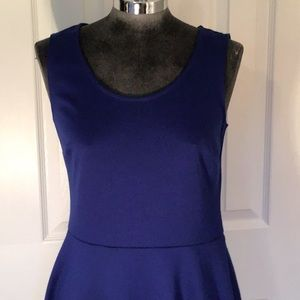 The Limited blue dress. Sz Small